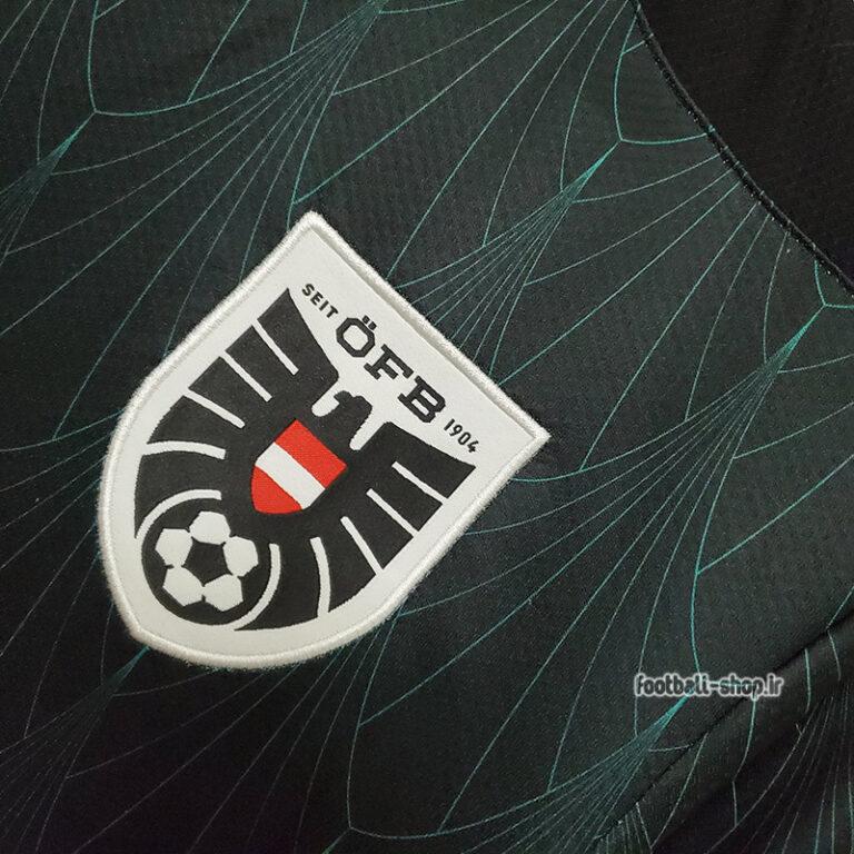 لباس دوم اتریش مشکی اریجینال +A یورو 2020-Puma