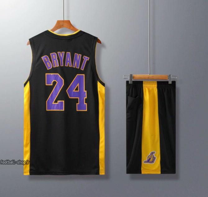 ست بسکتبال لیکرز مشکی  کوبی برایانت 24#اصل سوپرسوزنی