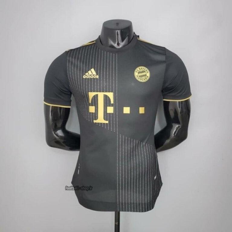 لباس دوم مشکی +A بایرن مونیخ ورژن بازیکن 2022-Adidas