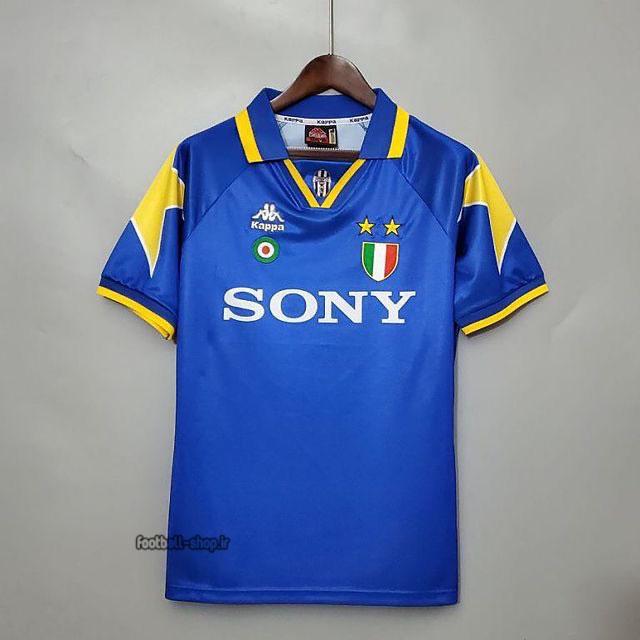 کیت اریجینال آ پلاس لباس کلاسیک یوونتوس 1997-1998 آبی-Cappa