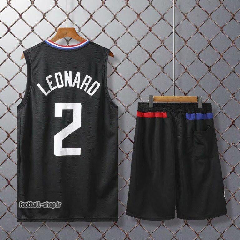 ست بسکتبال کلیپرز مشکی   کووای لنارد 2,سوپر سوزنی