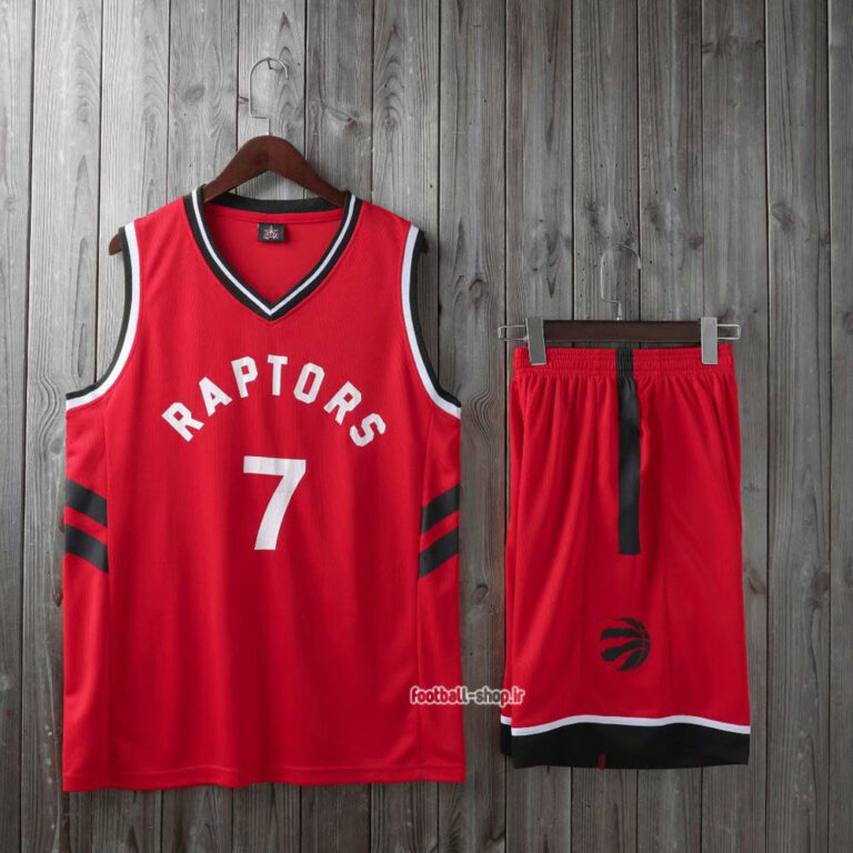 ست بسکتبال تورنتو رپترز قرمز  لاوری 7#,سوپر سوزنی