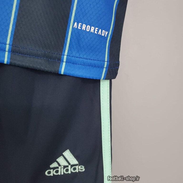 لباس و شورت دوم آژاکس 2022 اریجینال +A بچگانه-Adidas