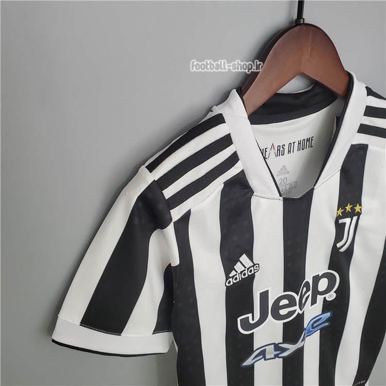 لباس و شورت اول یوونتوس 2022 اریجینال +A بچگانه-Adidas