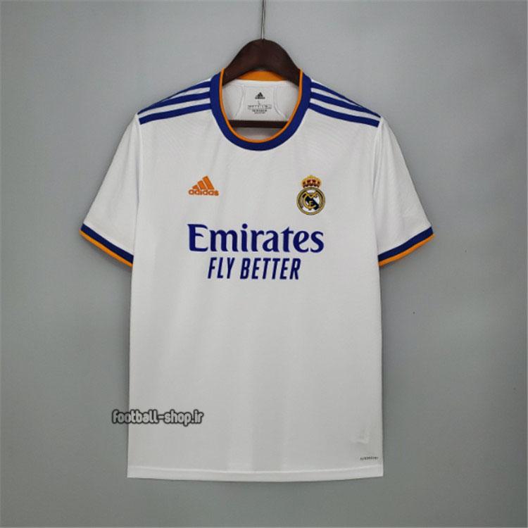 لباس اول اریجینال +A رئال مادرید 2022 ورژن هوادار-Adidas