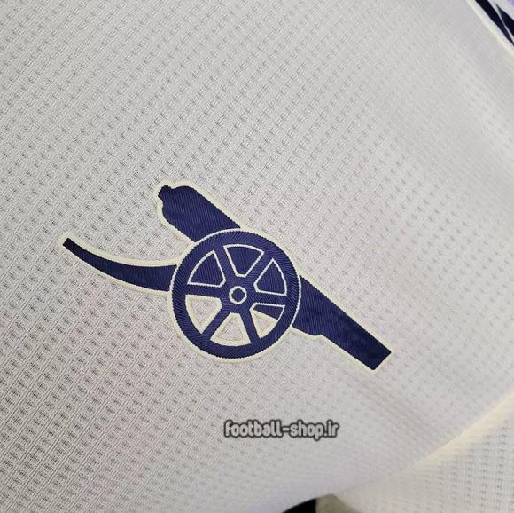 لباس دوم +A آرسنال ورژن بازیکن لیمویی 2022-Adidas