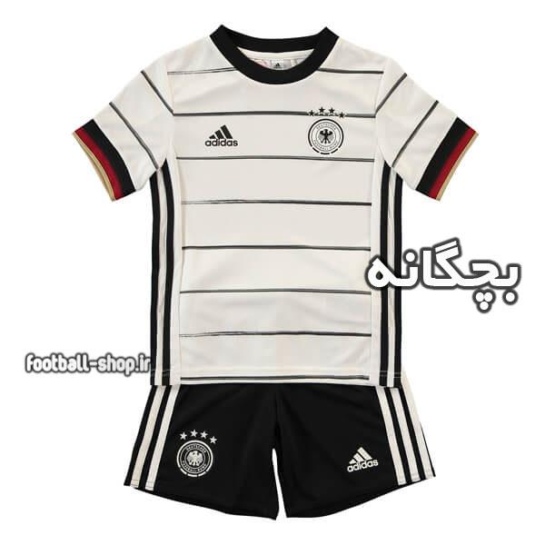 لباس و شورت اول آلمان 2022 اریجینال +A بچگانه-Adidas