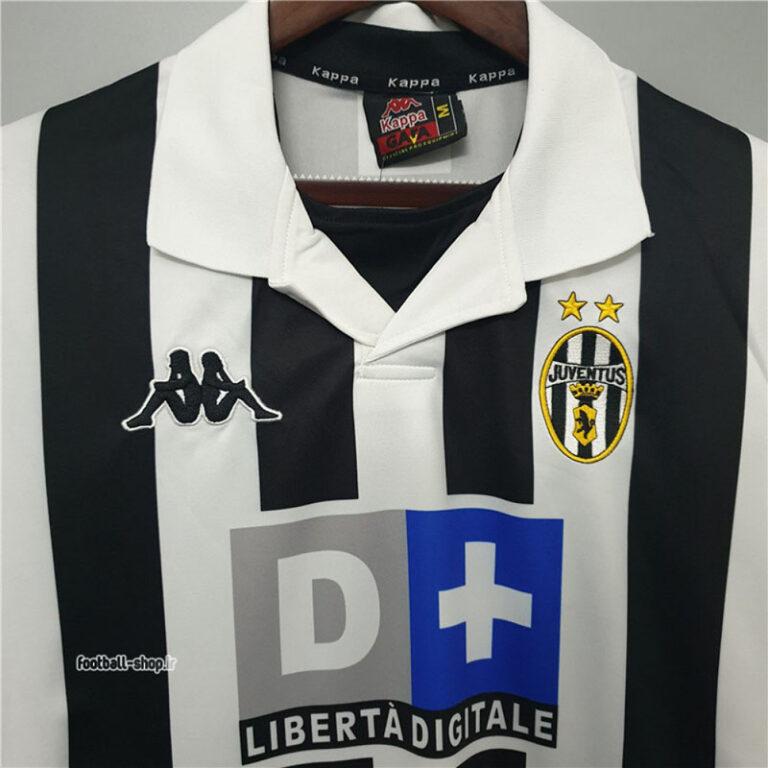 لباس کلاسیک اول یوونتوس 1999-2000 اریجینال-Cappa