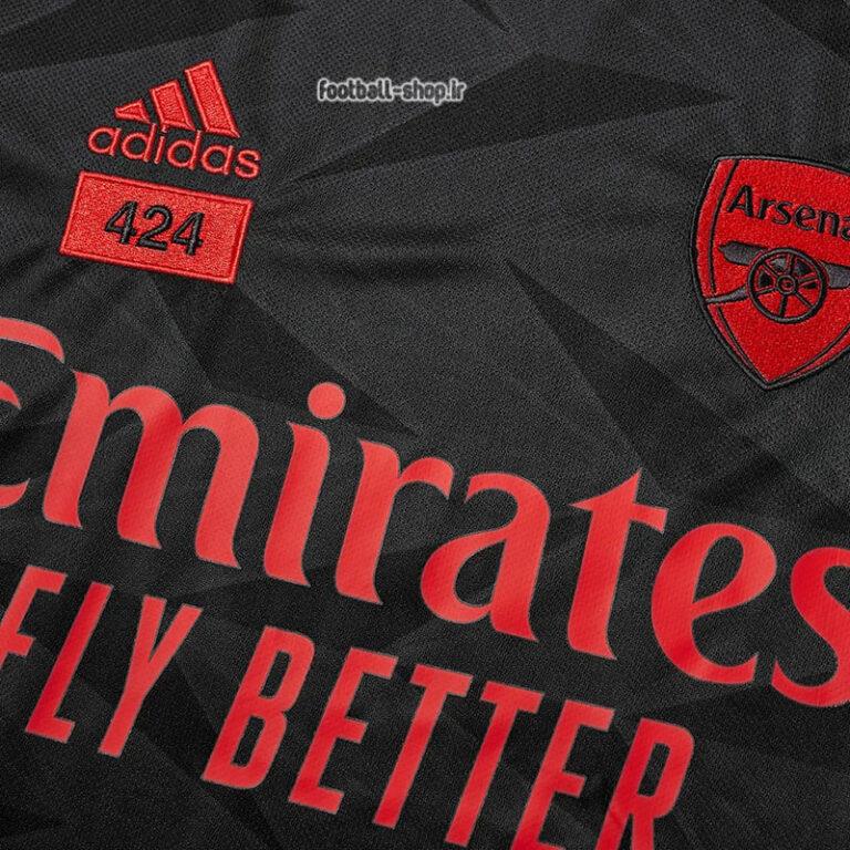 لباس و شورت خاکستری آرسنال 2022 اریجینال +A بچگانه-Adidas