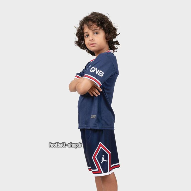 لباس و شورت اول پاری سن ژرمن 2022 اریجینال +A بچگانه-Nike