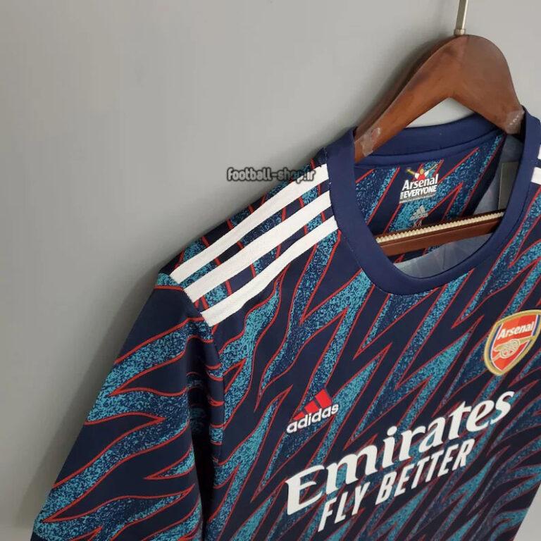 لباس سوم اریجینال +A آرسنال 2022-2021 ورژن هوادار-Adidas