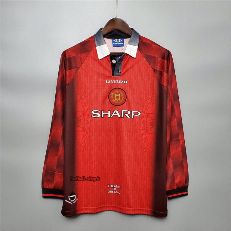 لباس اول کلاسیک منچستریونایتد 1997 آستین بلند +A اریجینال-Umbro