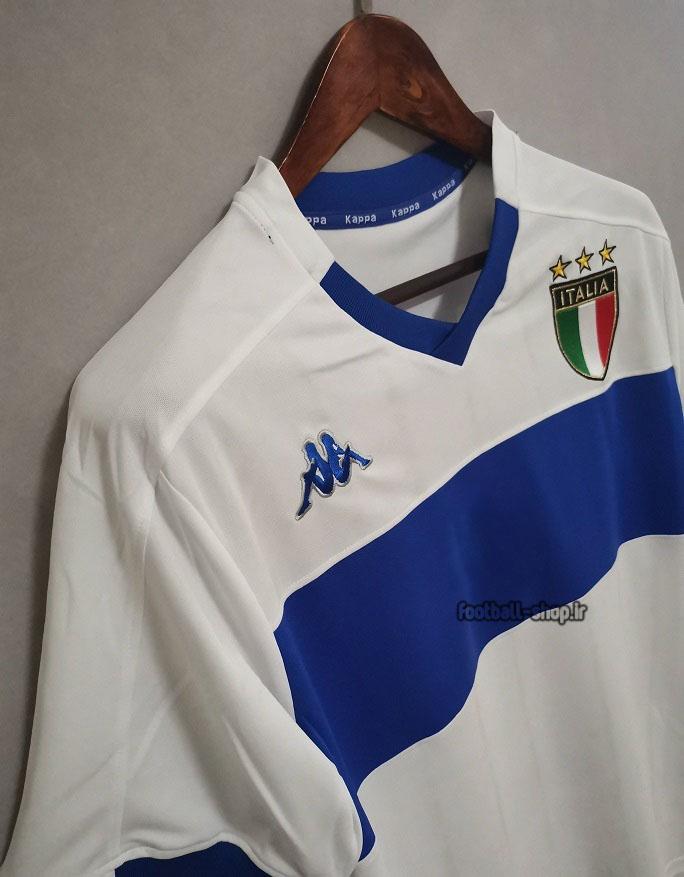 کیت اریجینال آ پلاس لباس کلاسیک ایتالیا 1999 سفید-Kappa