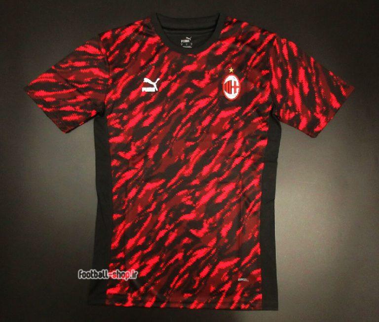 لباس هواداری ورژن بازیکن +A آث میلان 2022-Puma
